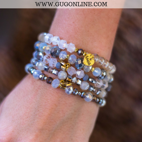 Erimish Stackable Crystal Bracelets - Ball.N.Chain