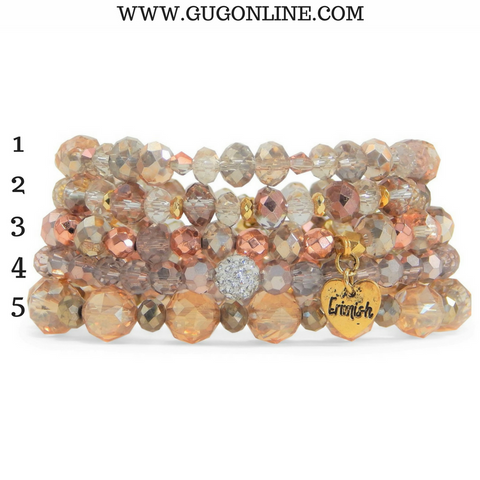 Erimish Stackable Crystal Bracelets - Main Squeeze