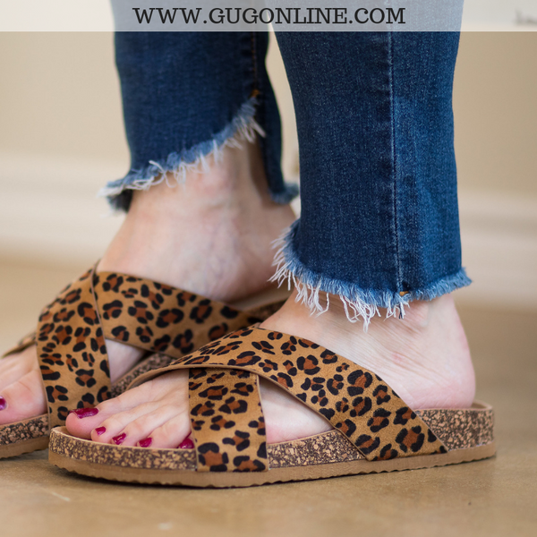 Stylish Sandals Leopard Cheetah