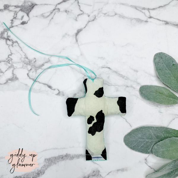 Cowhide Cross Freshie - Leather and Lace