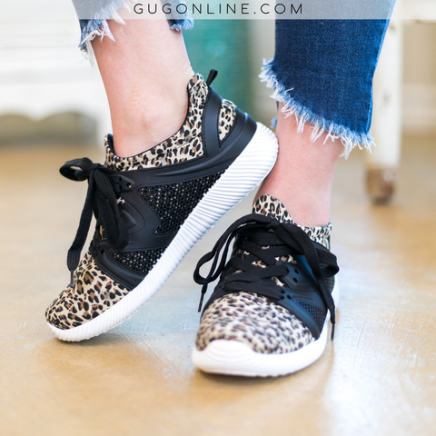 Catch Me If You Can Leopard Sneakers