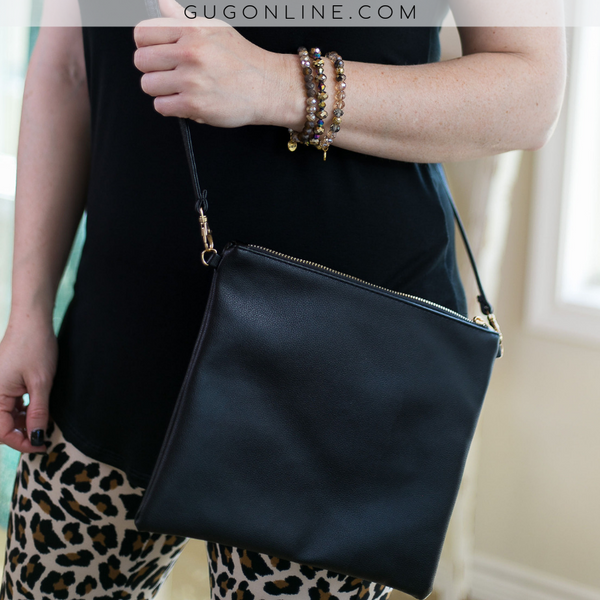 Something New Crossbody Purse in Black
