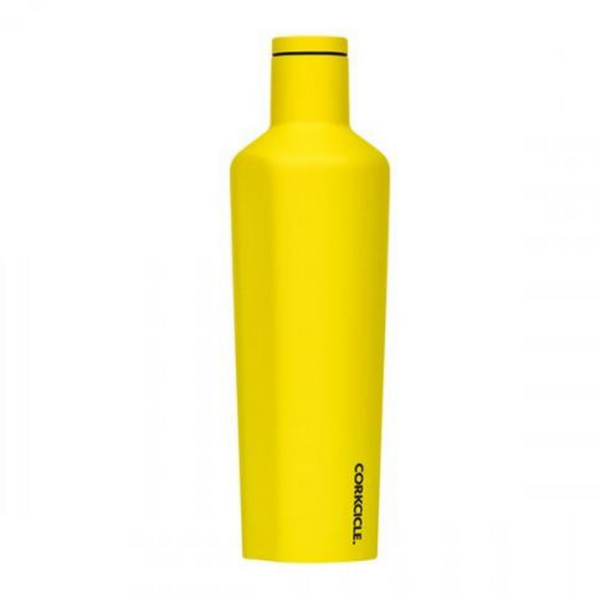 25 oz Corkcicle Neon Lights Collection | Canteen - Neon Yellow