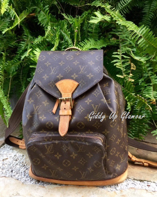 Authentic Used Louis Vuitton Montsouris GM Backpack In Monogram - Make a free invoice pdf online louis vuitton online store