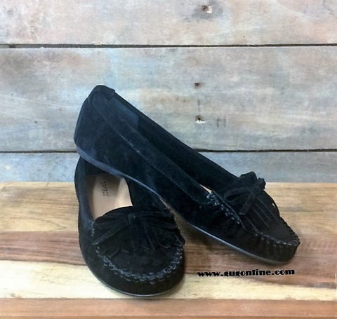 Slip on Moccasin in Black