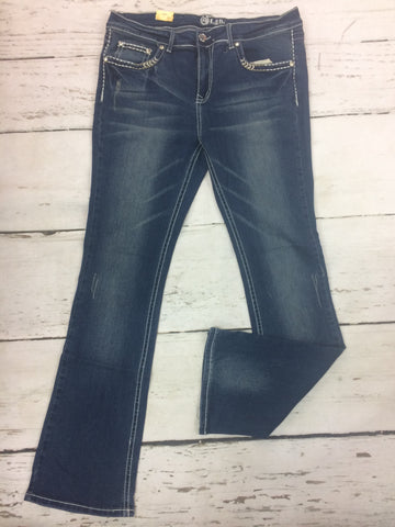 Closeout Jeans Style 148624 (L21505-PB) SIZE 20 & 22 ONLY
