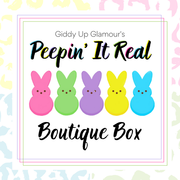 Giddy Up Glamour Boutique Box | Peepin' It Real