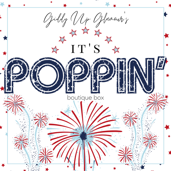 Giddy Up Glamour Boutique Box | It's Poppin'