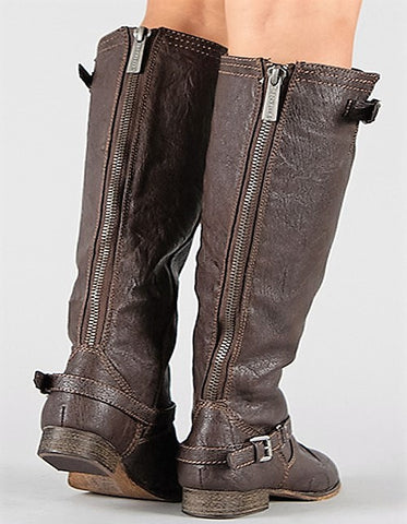 The Outlaw Riding Boots in Brown