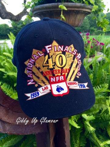 A Super Cool Find....National Finals Rodeo 1998 40th Anniversary Cap