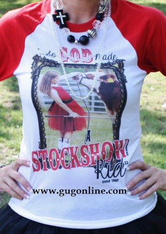 So God Made A Stockshow Kid Adult Tee