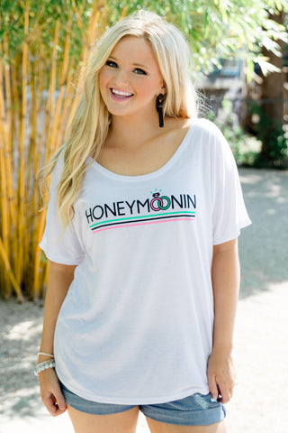 Honeymoonin' Short Sleeve Dolman Shirt