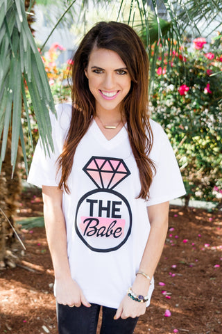 The Babe Short Sleeve Tee Shirt