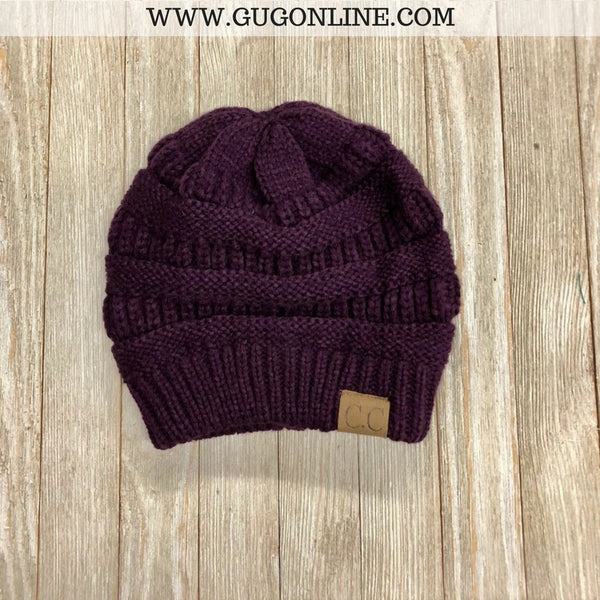 CC Beanie in Purple
