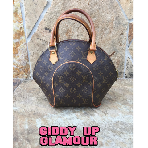 Authentic Used Louis Vuitton Elipse in Monogram