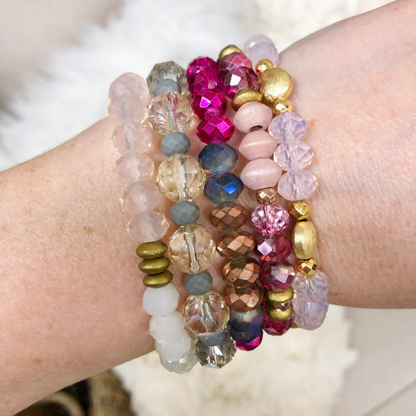 Erimish Grab Bag | Mallory's Shades of Pink Bracelet Set