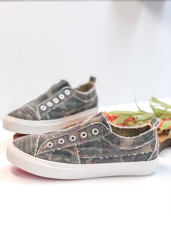Corky's | All Your Own Slip On Sneakers in Camo