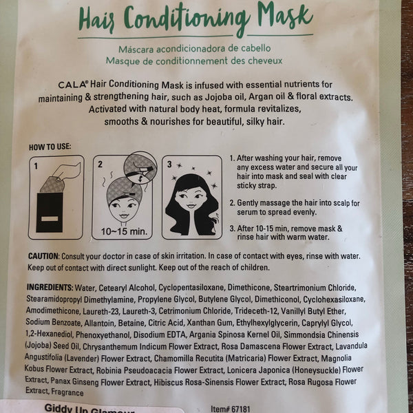 CALA | Hydrate & Nourish Hair Conditioning Mask