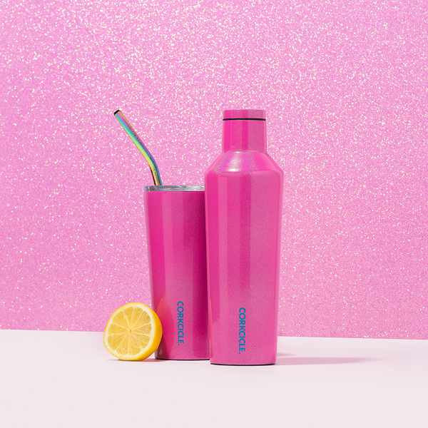 16 oz Corkcicle Unicorn Sparkle Collection | Canteen - Pink Dazzle