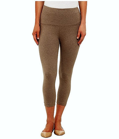 Lysse Premium Tummy Control Capri Length Leggings WICKER MEALANGE