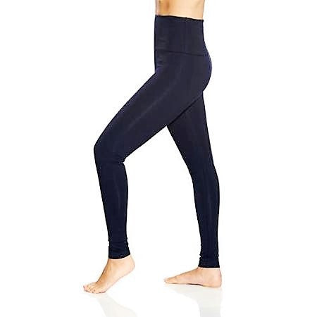 Lysse Premium Tummy Control Ankle Length Leggings MIDNIGHT BLUE