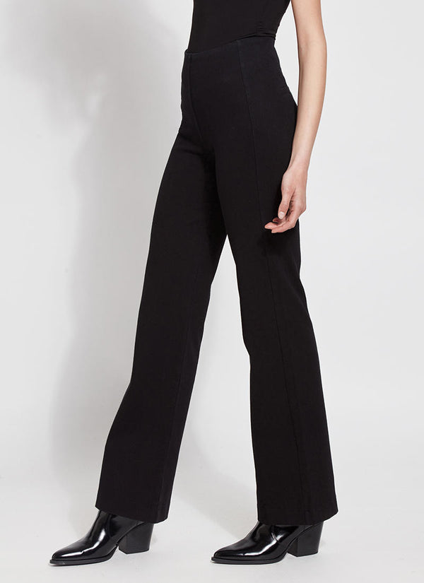 Lysse Denim Wide Leg Trouser Jeans in Black