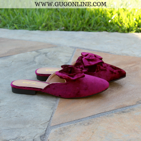 Crushing It Ballerina Flats in Maroon