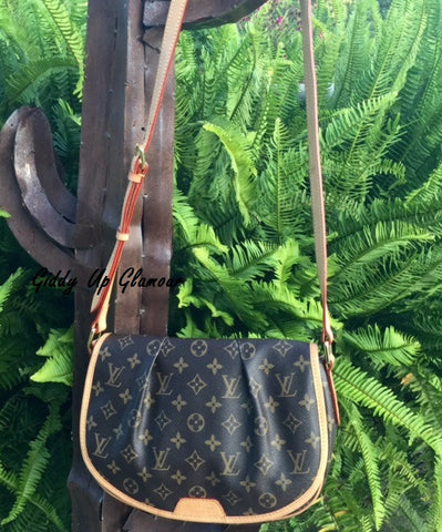 Authentic Used Louis Vuitton Menilmontant PM in Monogram JUST RETIRED