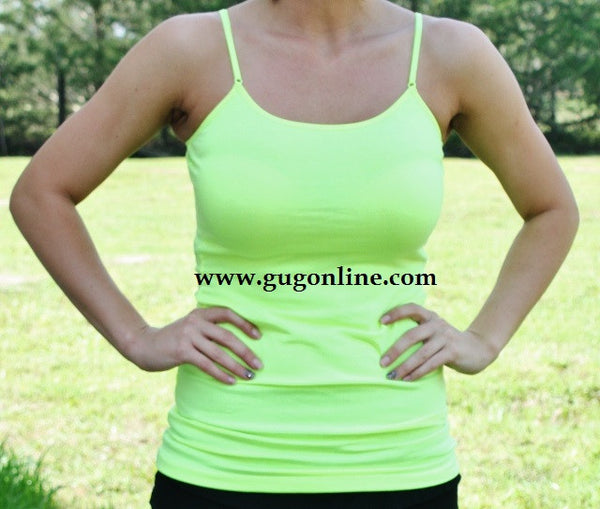 Solid Camisole in Avocado Green
