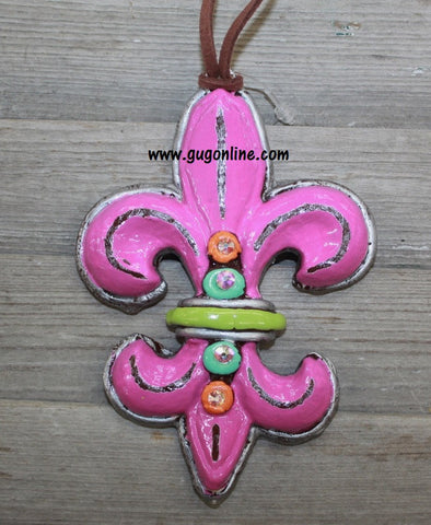 Sinners and Saints Pendant in Pink