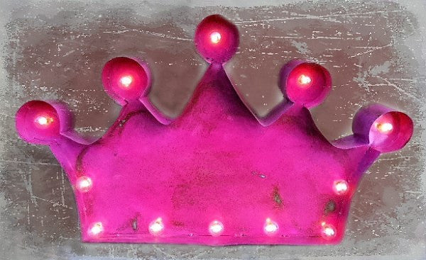 Lighted Rustic Crown