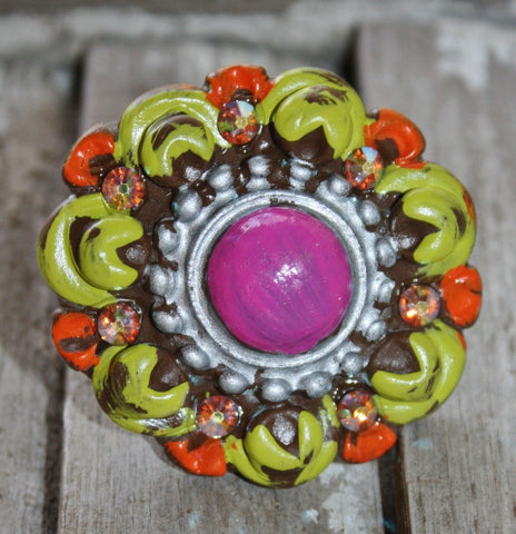 Lollipop Ring in Bright Colors
