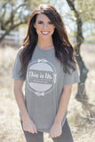 This is Us Short Sleeve Grey Tee Shirt