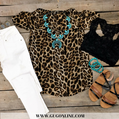 Meant To Be Cheetah Tunic