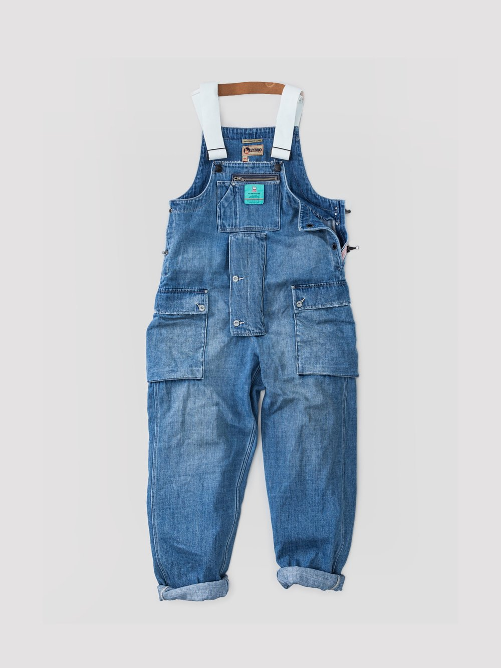 Nigel Cabourn P-52 NAVAL DUNGAREE DENIM