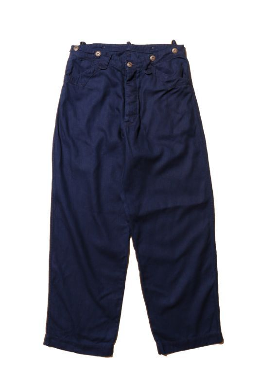 "JELADO ""PIRATE OF BLUE DYE"" Buccaneer Trousers Indigo 20% Off"
