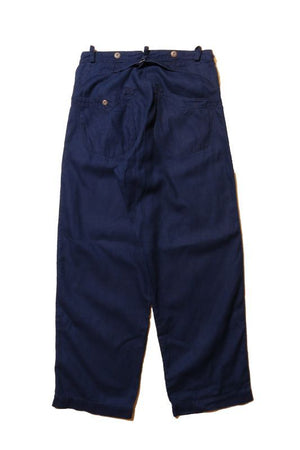 "JELADO ""PIRATE OF BLUE DYE"" Buccaneer Trousers Indigo 15% Off"