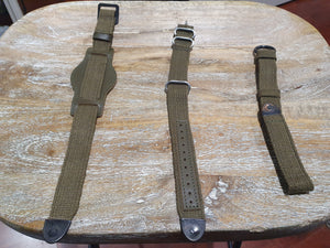 obbi good label recycling vintage helmet watch band