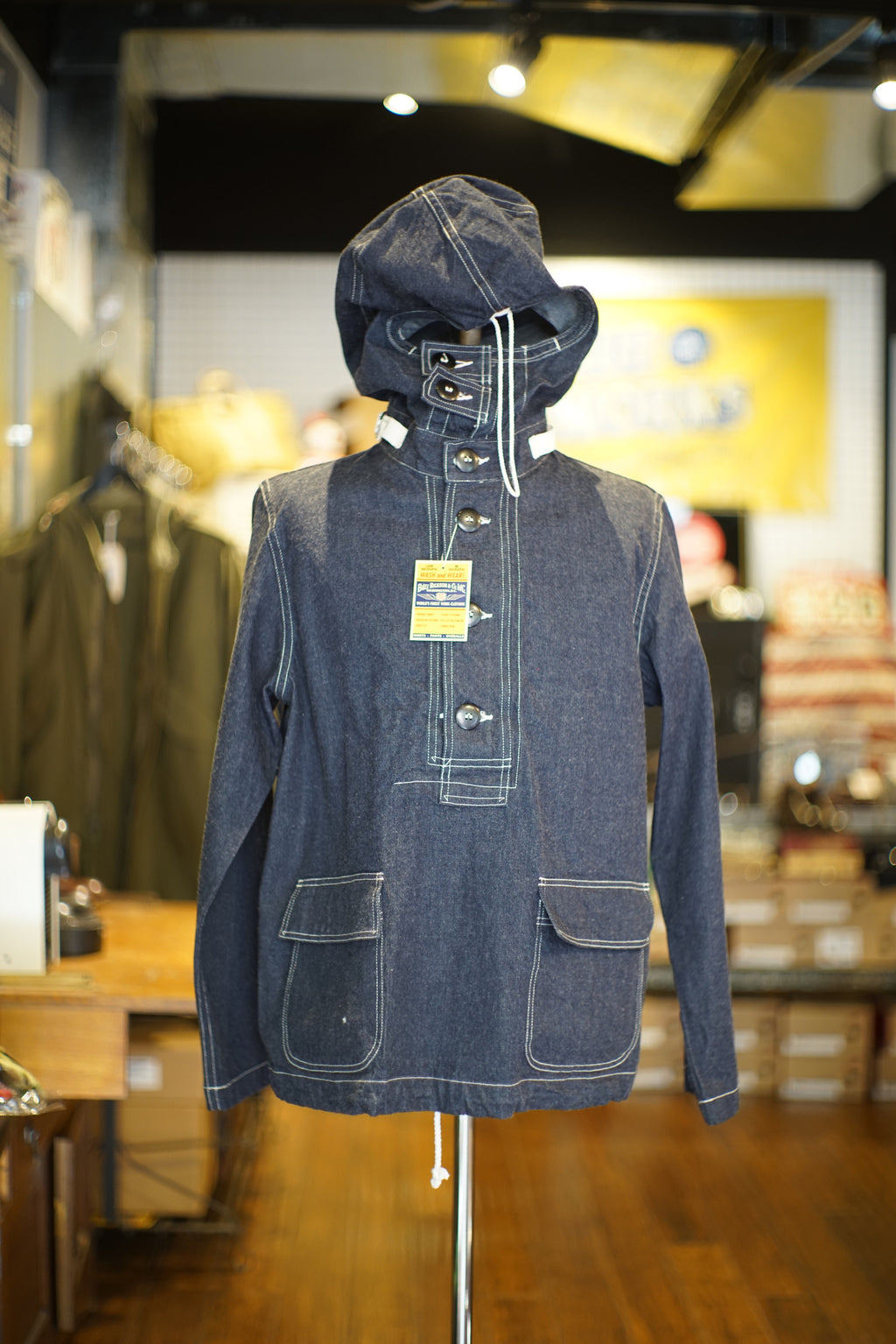 Buzz Rickson's U.S Navy Denim Parka