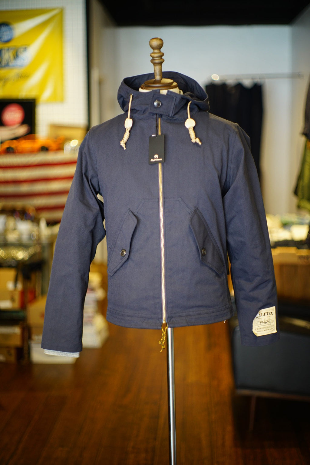 Nigel Cabourn Hooded Short Parka HALFTEX 15% Off