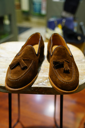Sanders suede loafer 10%off