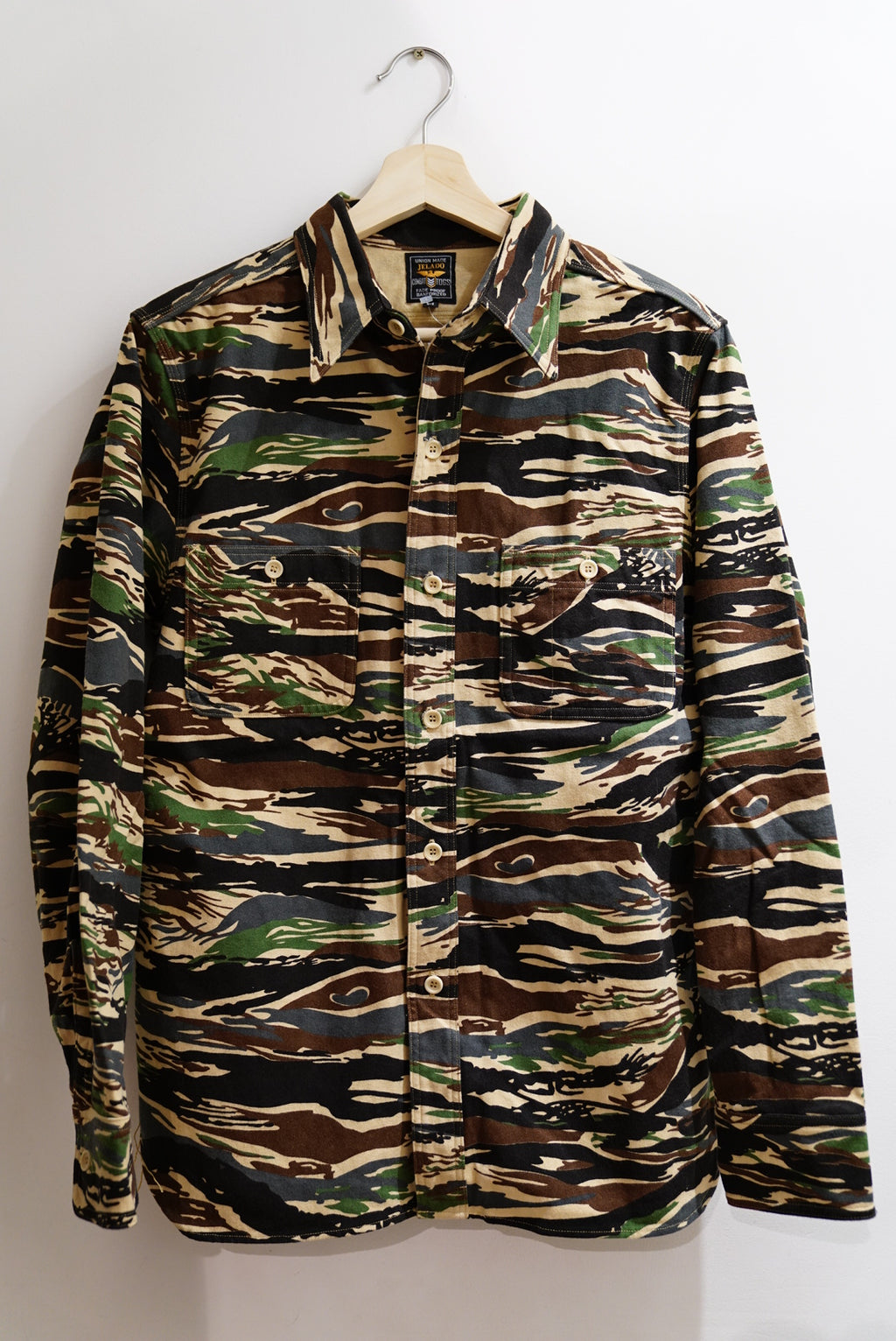 Jelado tiger duck camo shirt
