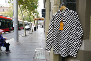 Sugarcane chess check shirt 15% Off