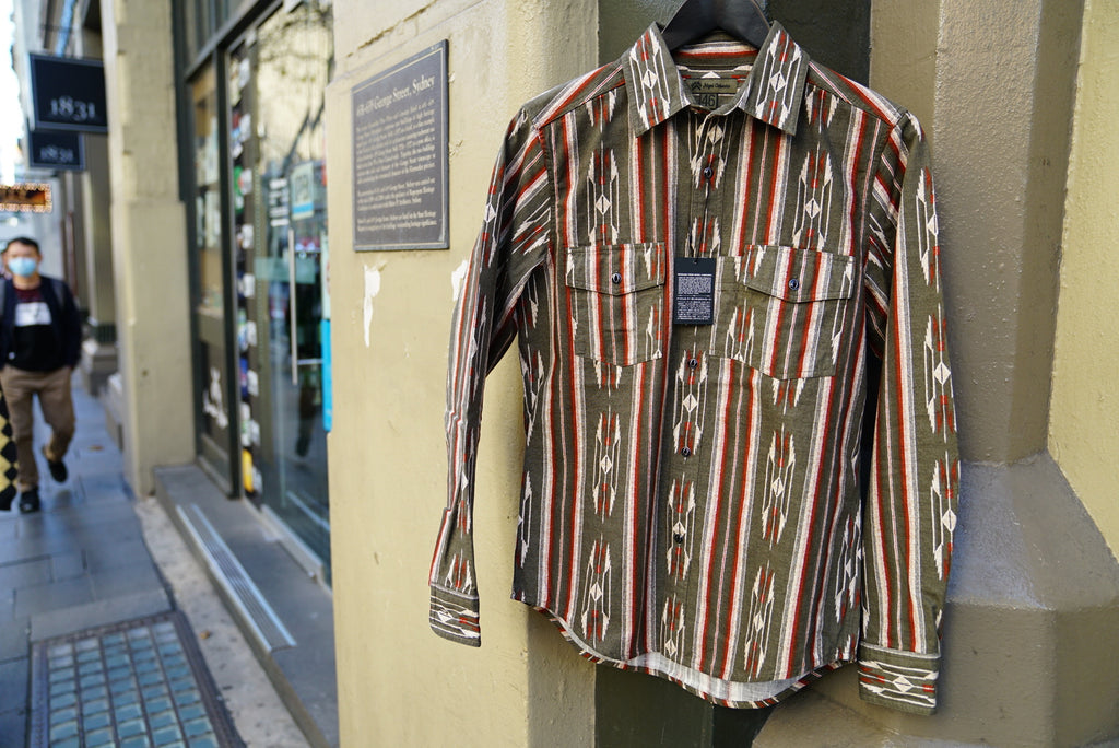 Nigel Cabourn 70s Native shirt