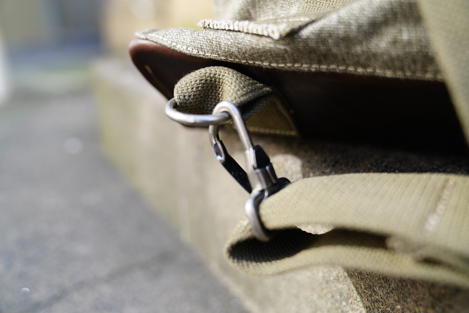 Nigel Cabourn 40S mountain army rucksack