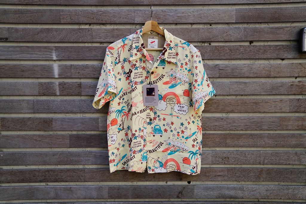 SUNSURF yoji toyoda Hawaiian shirt