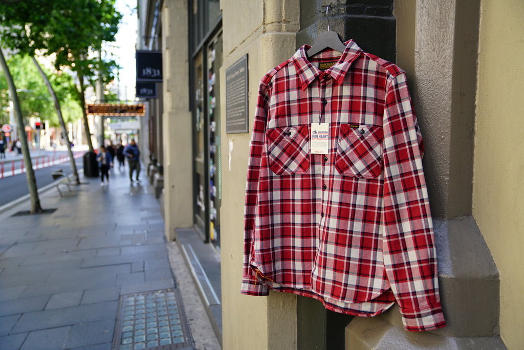 Iron Heart heavy Flannel shirt