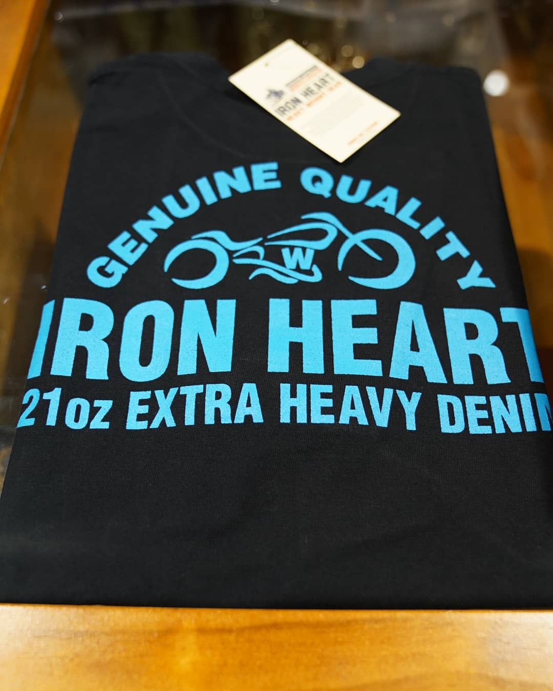 IronHeart 7.5oz tee