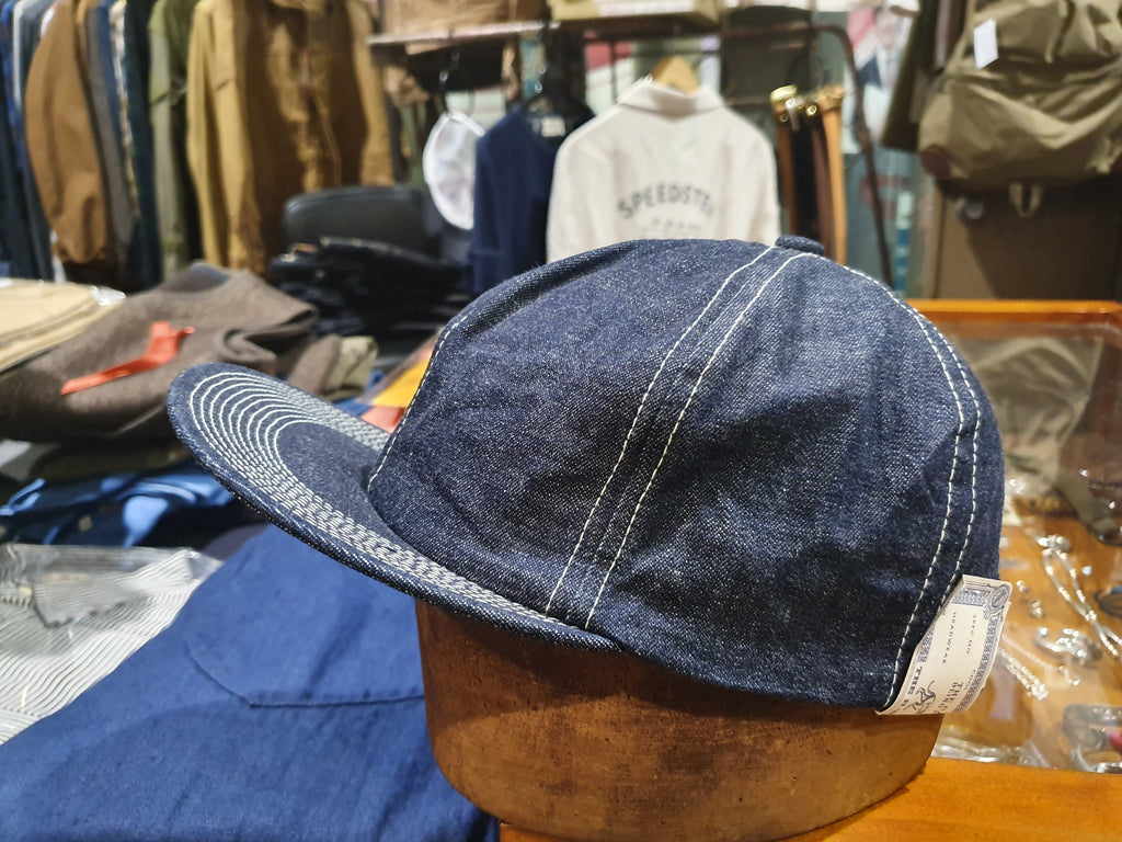 HW Dog trucker hat denim