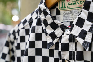 Sugarcane chess check shirt